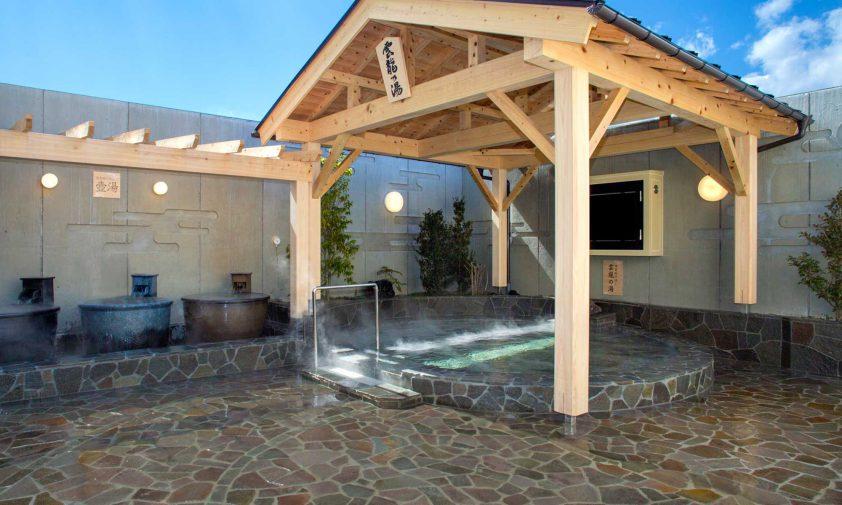 露天風呂「雲竜の湯」1